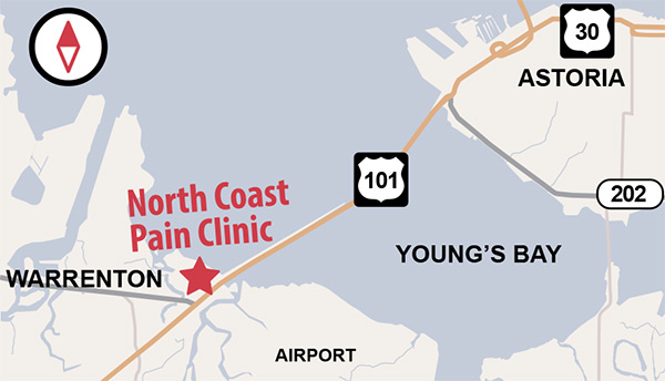 North Coast Pain Clinic Map